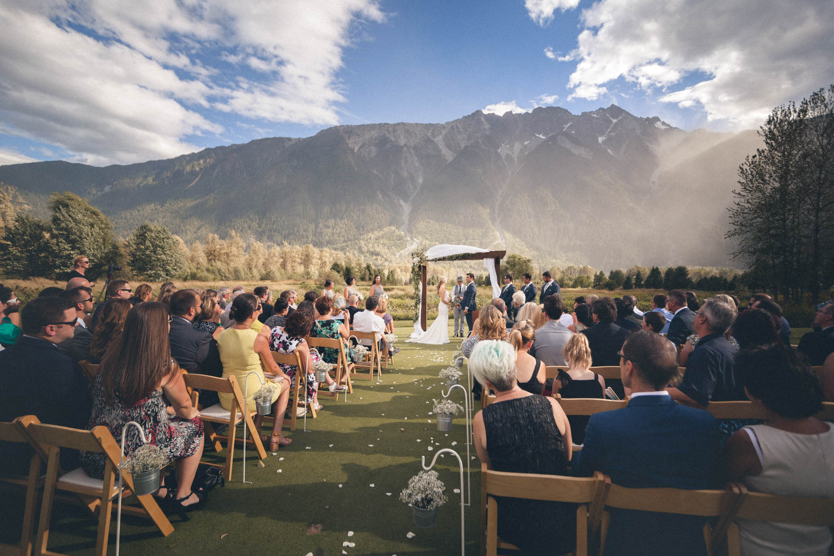 Big Sky golf wedding venue reception