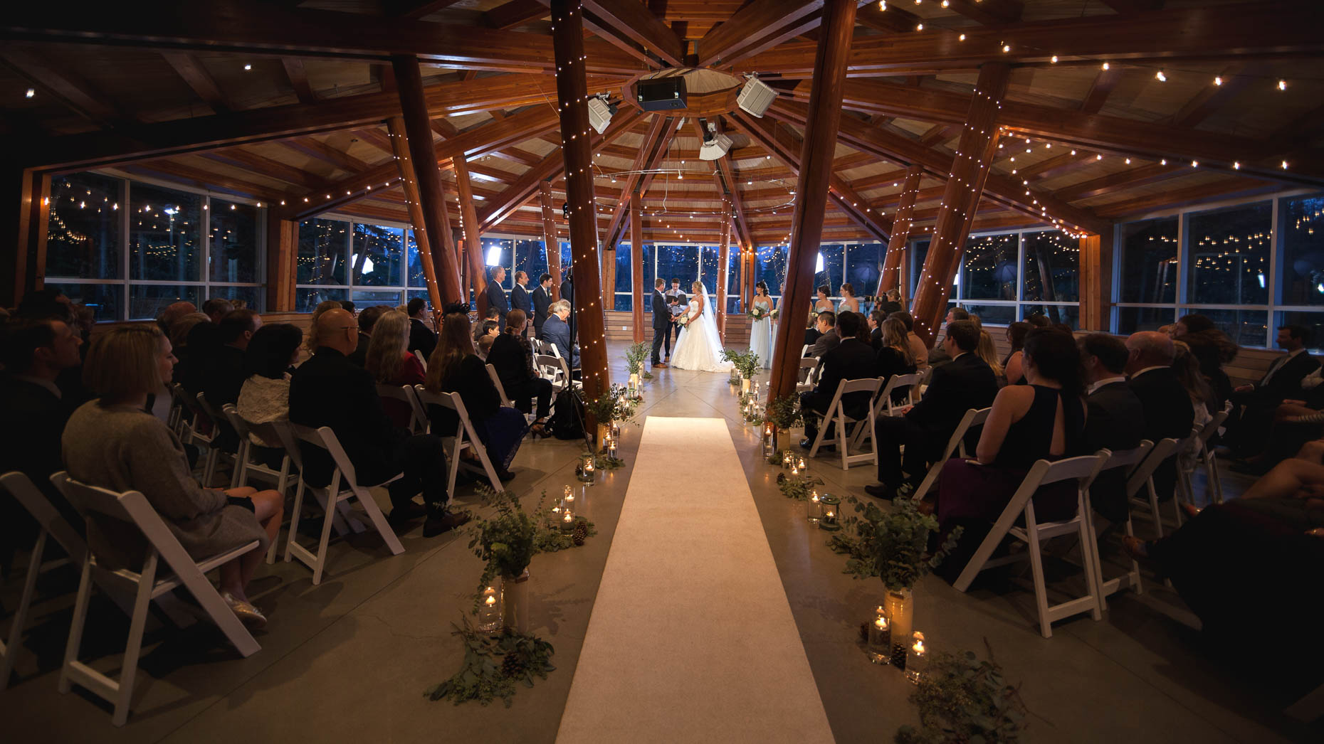 SLCC wedding ceremony venue in Whistler BC shown by photographer Robin O