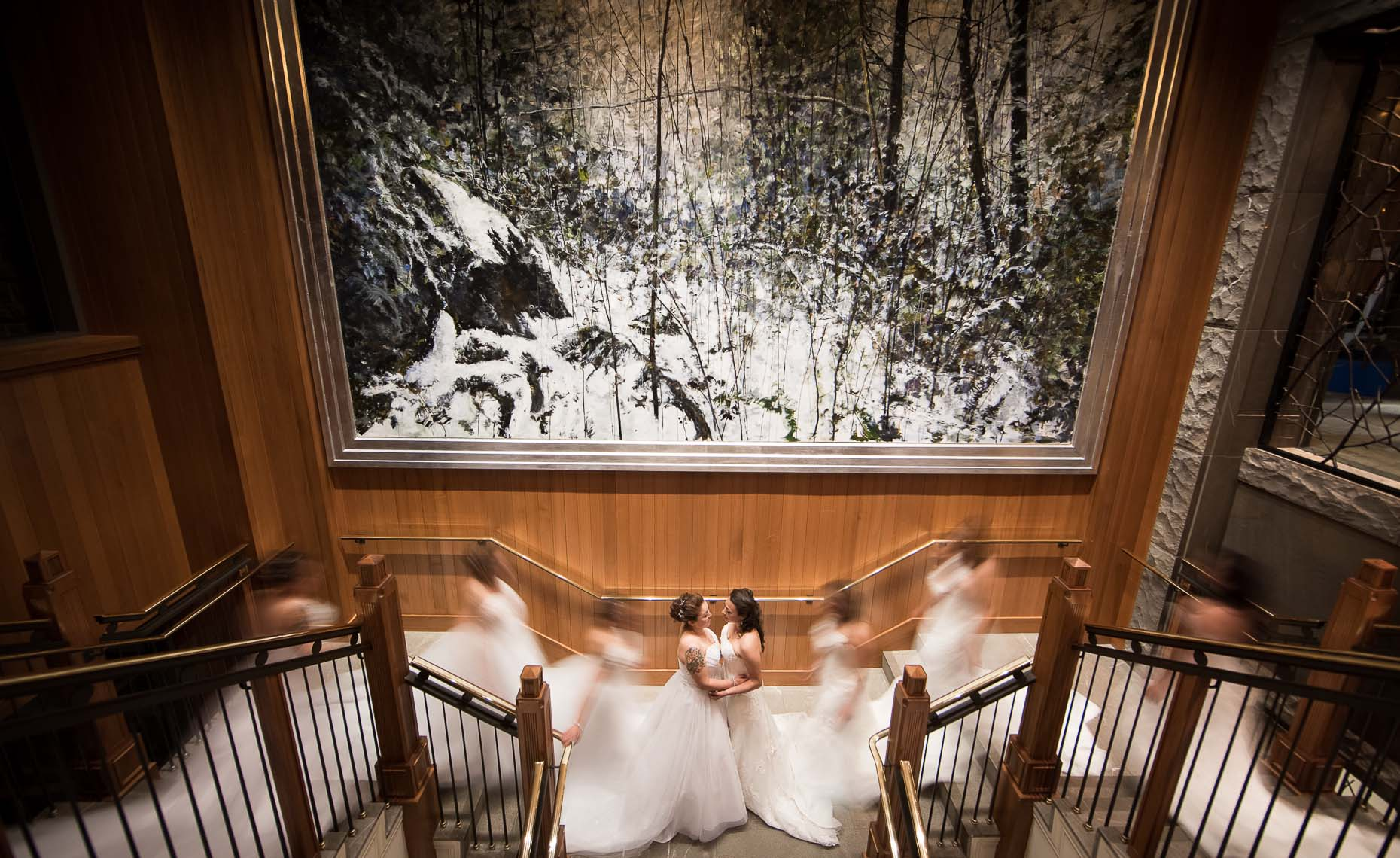 luxe wedding in elegant whistler wedding venue