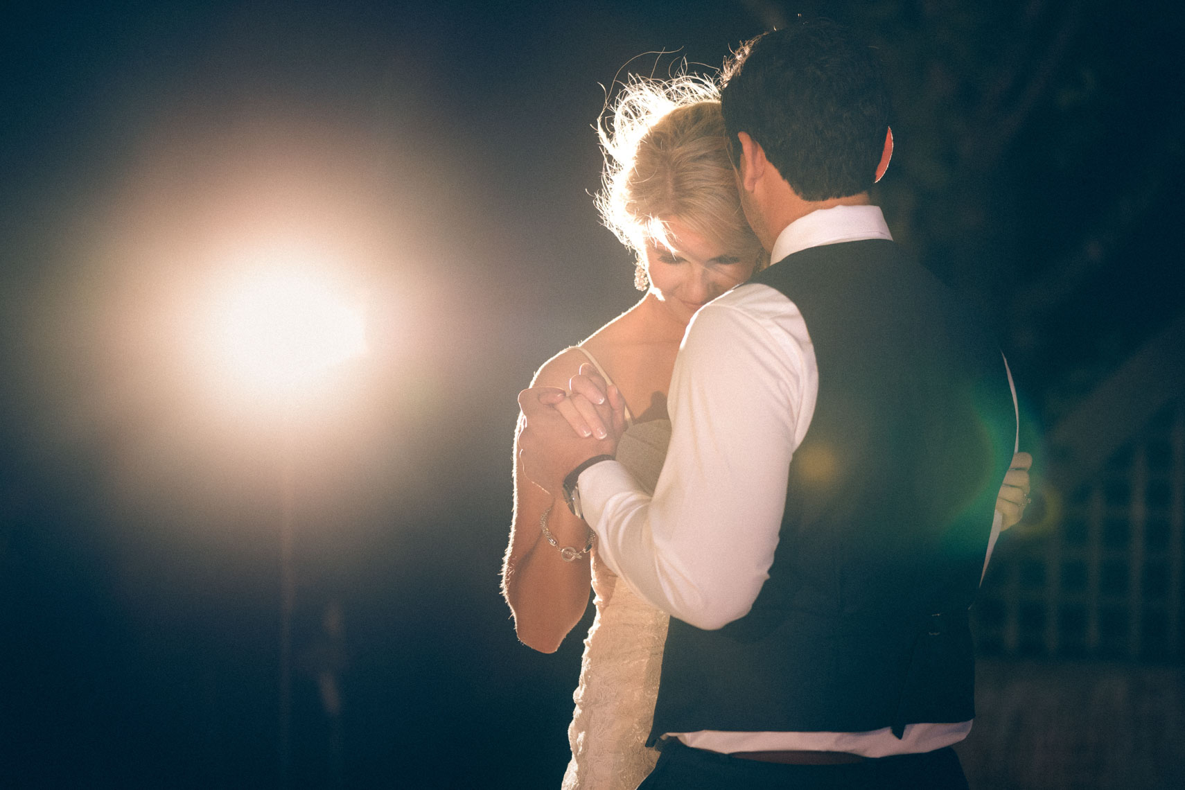 First dance at big sky golf wedding venue near Whistler BC