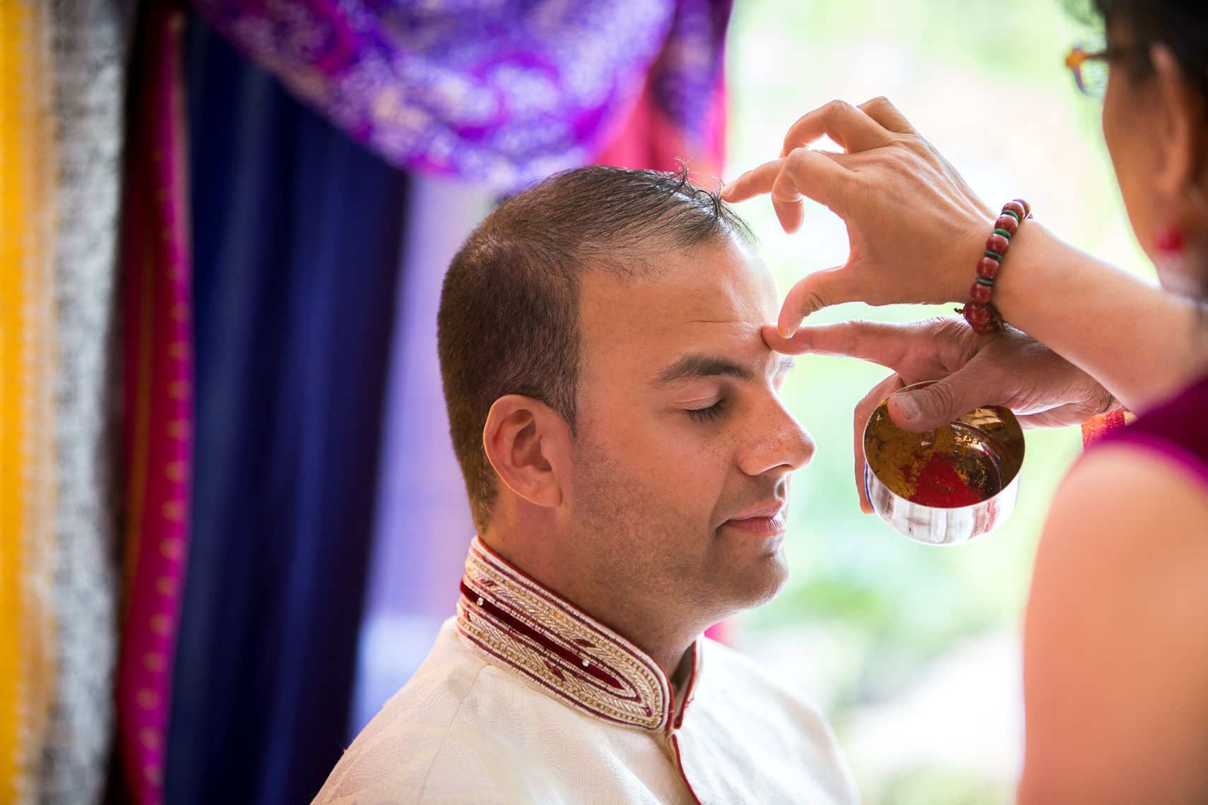 Indian wedding ceremony in Whistler, Canada