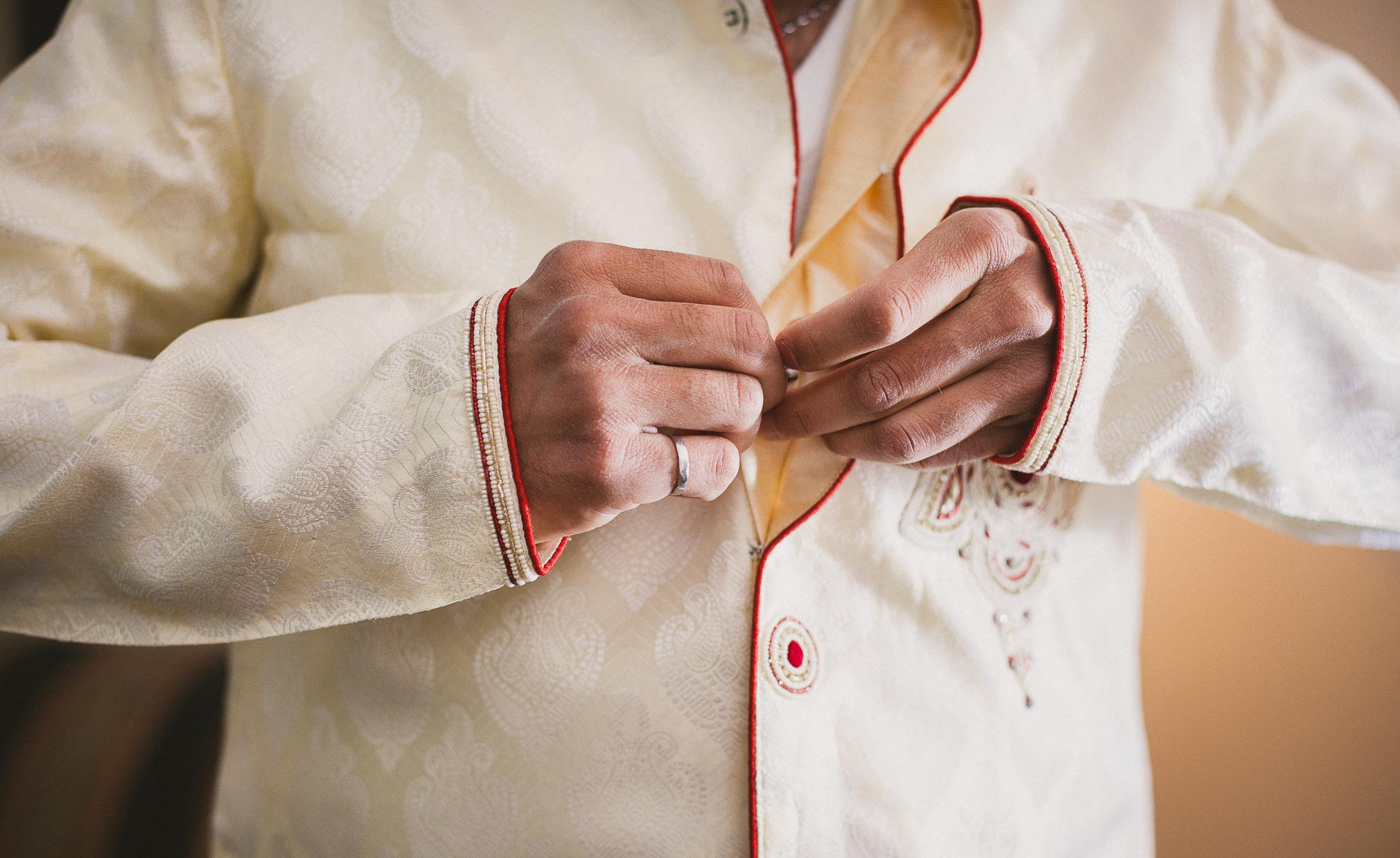 Mens traditional indian wedding robe in whistler BC
