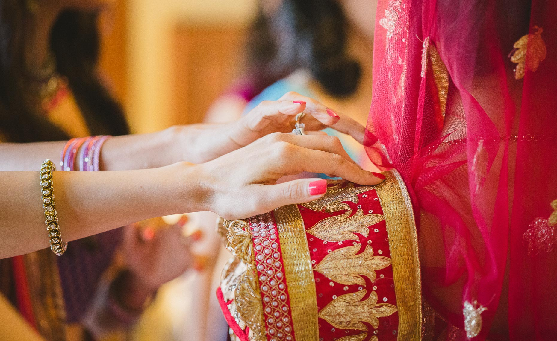 traditional indian wedding ceremony in Whistler, BC