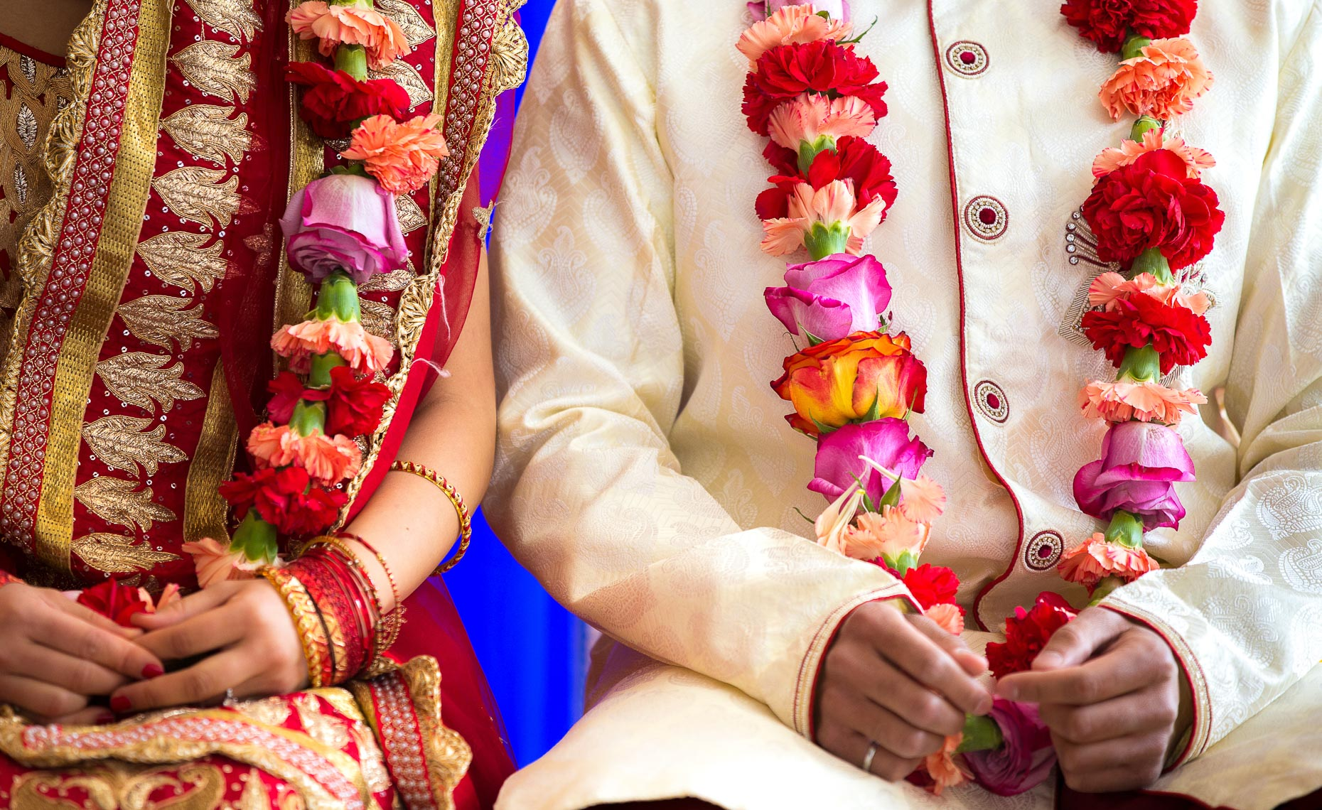 Hindu wedding ceremony in Whistler, BC during Kanyadaan
