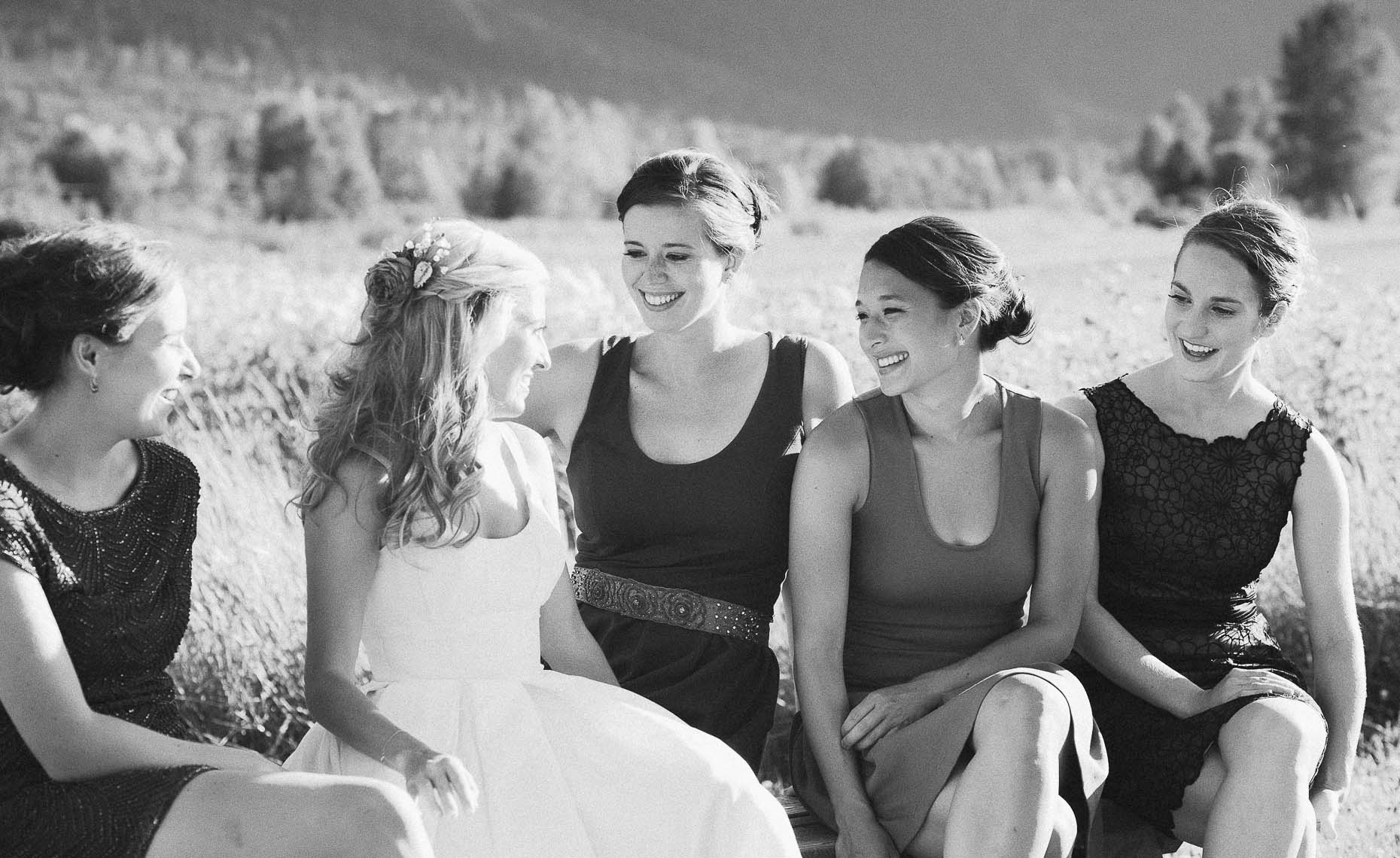 Black and white film photographer in whistler weddings.