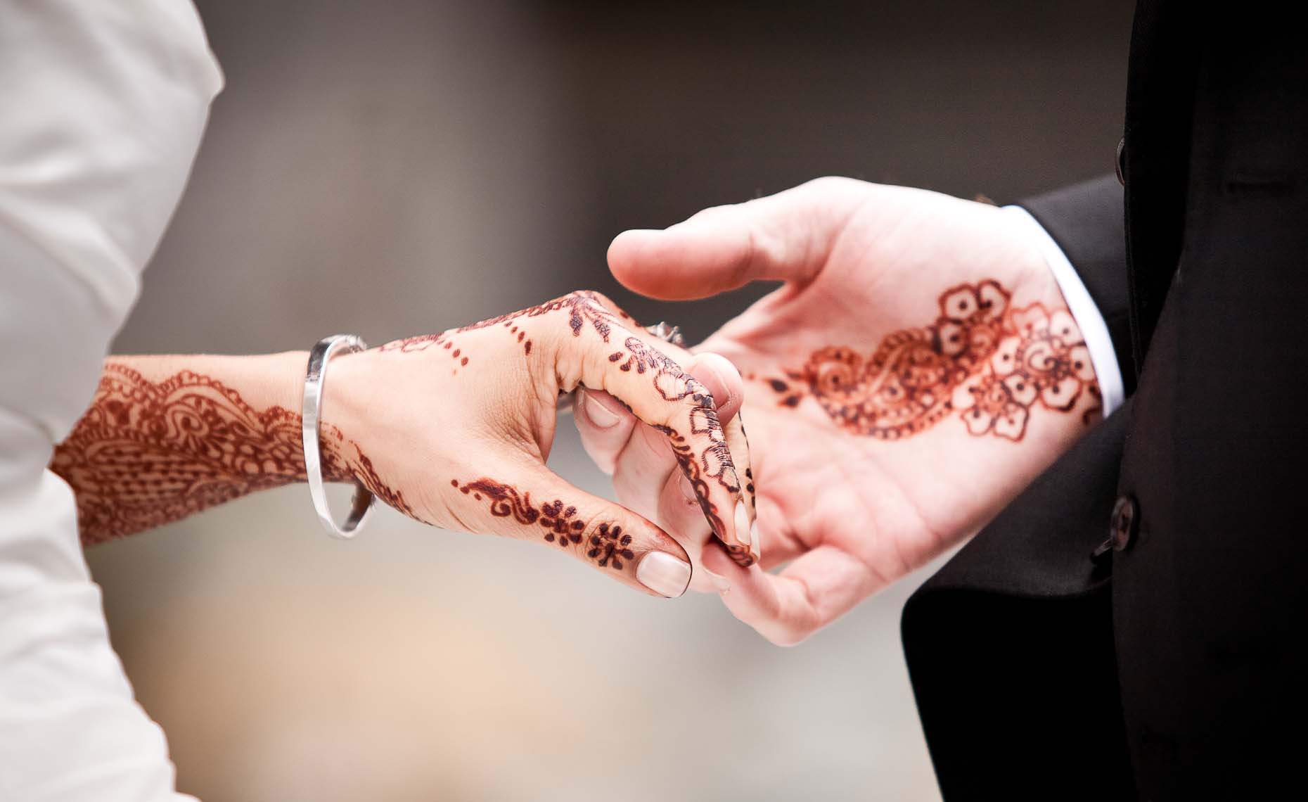 Henna closeup from indian wedding in whistler