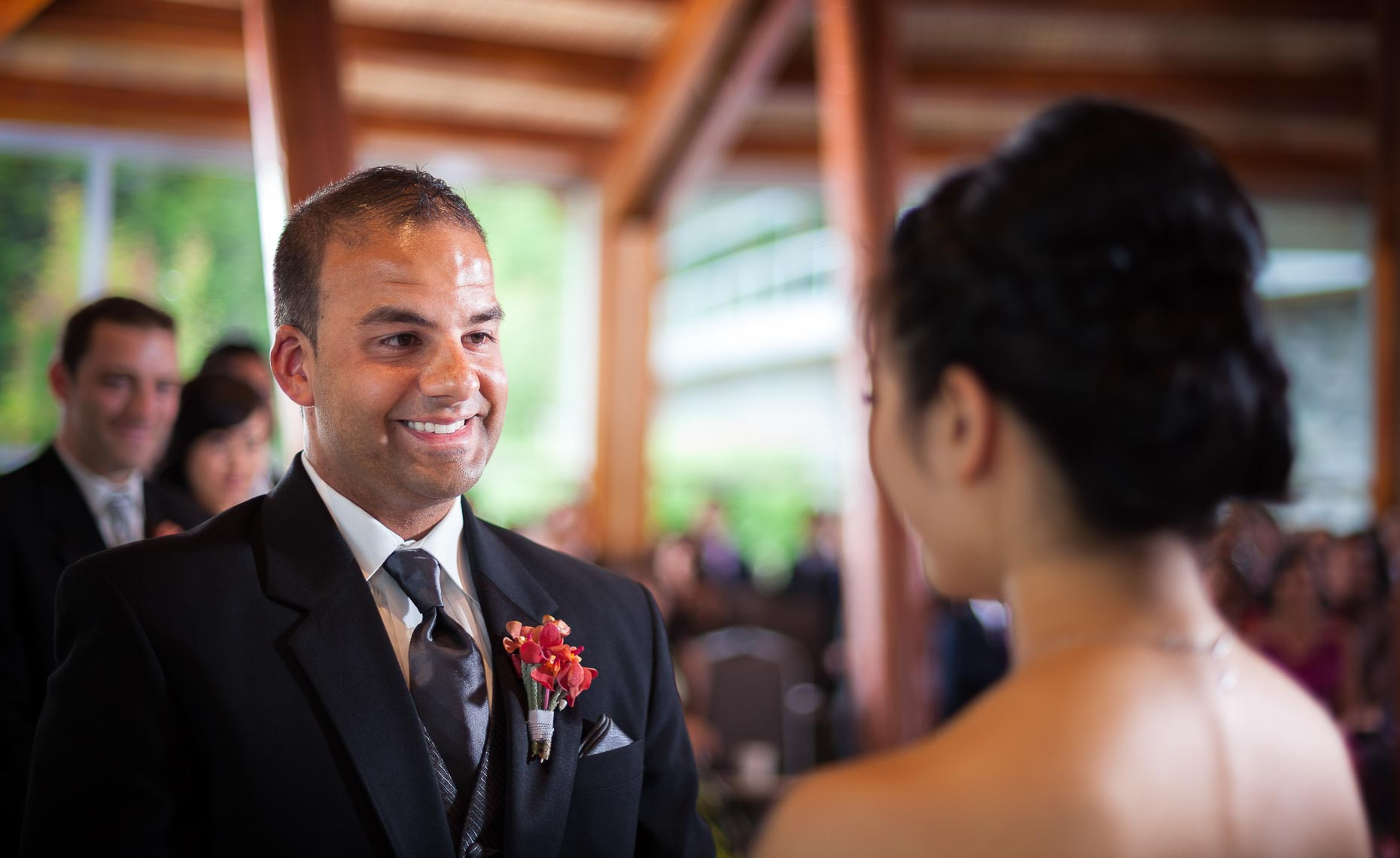 Wedding ceremony photography in whistler