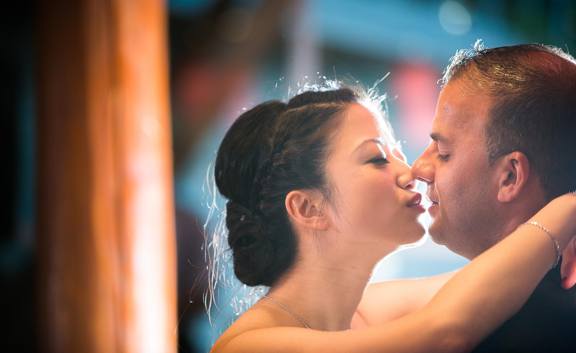 Whistler wedding photographer shoots intimate genuine moment